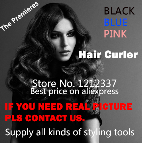Fast shipping Hair Curler Hot Sale Pro Nano Titanium Automatic Curls Magic Hair Roller Professional Hair Styling Tools(China (Mainland))