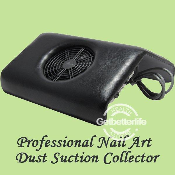 1set - Medium Nail Dust Suction Collector for Nail Art Beauty, Nail Fan - 3 bags (Gift) Supply, Nail Care - free shipping(China (Mainland))