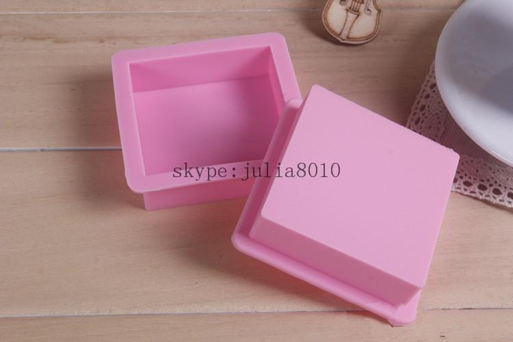 Гаджет  Wholesale all kinds of soap mold bread molds inner diameter of 6 * 6 * 2cm straight quadrel mold silicone cake baking molds None Дом и Сад