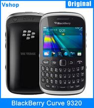 Original Unlocked BlackBerry Curve 9320 Mobile Phone 3.15MP Camera BlackBerry OS Phones 7.1 Wifi Bluetooth FM Radio Cell Phone