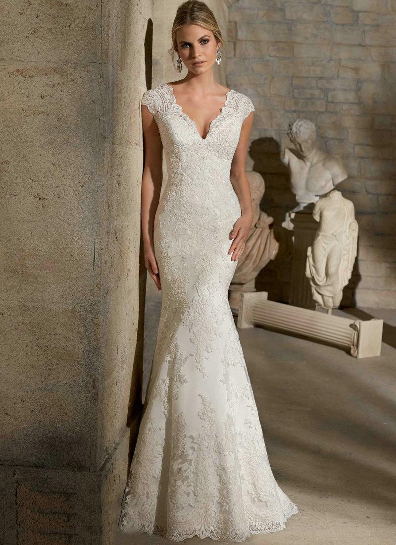 Ivory Lace Wedding Dresses - Ocodea.com