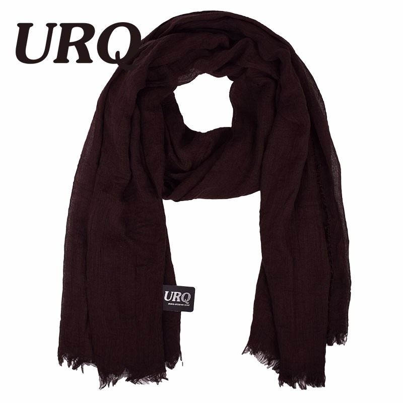 Large Size Winter Women Solid Muslim Headwear Plain Viscose Oversize Scarf Shawl Wrap Warm Fringe Scarf V10A18654(China (Mainland))