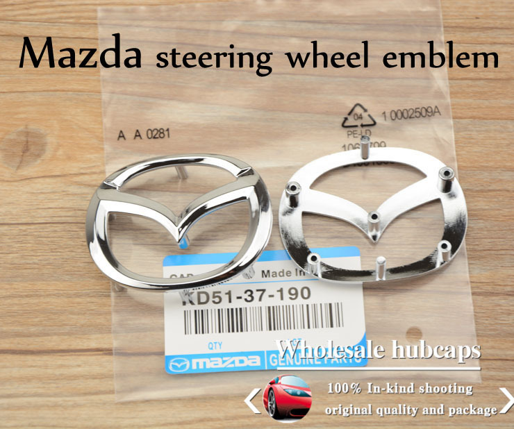 Excellent Quality Mazda M3 Steering Wheel Emblem Mazda 3 Belt Airbag Horse Emblem In Emblems