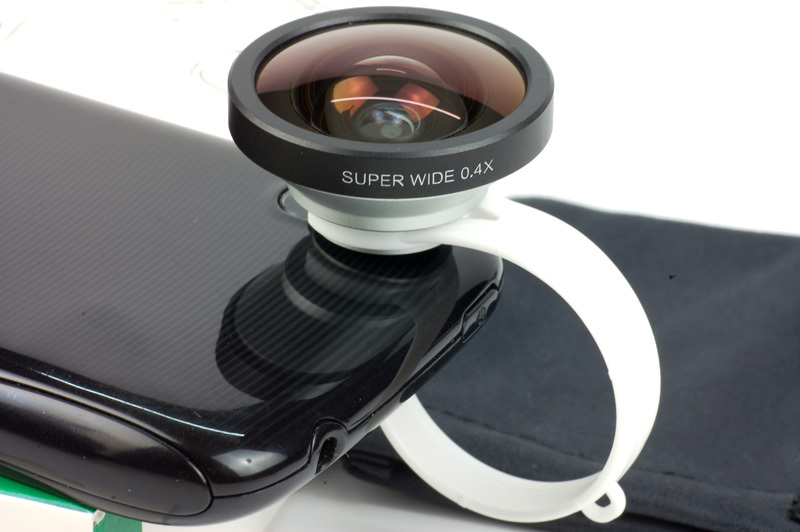 10 pcs 0.4x Circle Clip Super Wide Angle Conversion Lens For Blackberry HTC Phone Free Shipping CL-29(China (Mainland))