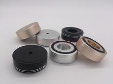 4pcs 39*16mm Scrub foot amplifier speaker feet spikes PC machine pads style C