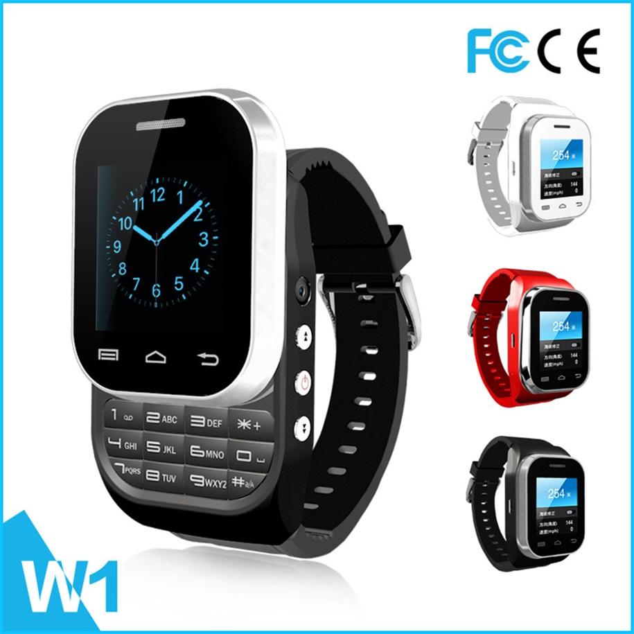 W1 Bluetooth 3.0 1.44'' Screen Smart Wrist Watch with Dual Sim Card New Brand