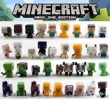 36pcs/1set christams gift sale minecraft steve creeper Anime Toys Action Figure Movie&TV Juguetes Brinquedos Toys For Children(China (Mainland))