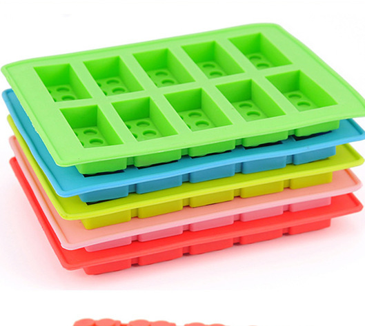 Hot summer Luo Hasi creative home daily necessities of life Lego ice lattice ice maker
