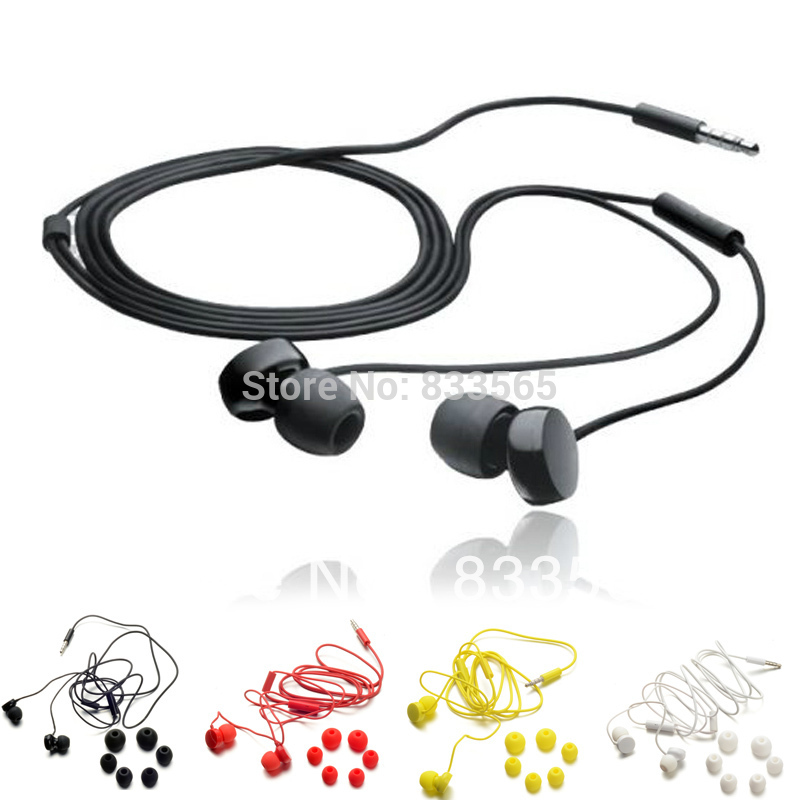 Free shipping 3.5mm Line Earphone Headphones with Micphone for Nokia D0780 P