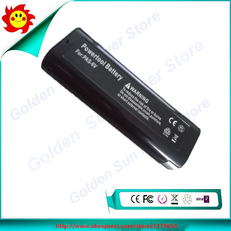 Free Shipping 6V 2000mAh Ni-CD Rechargeable Battery For Paslode 404400 900420 900600 B20720 B20544E BCPAS-404717 BCPAS-404717SH(China (Mainland))