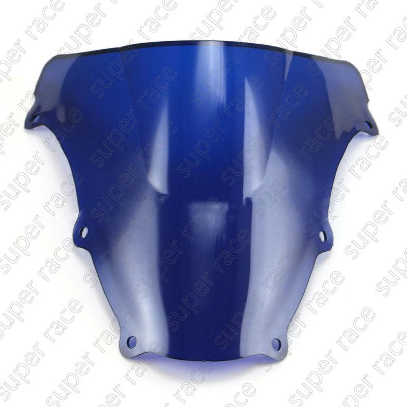 New Style Blue Motorcycle Motorbike Windshield Windscreen For Suzuki SV650S 2003-2012 SV1000S 2003-2008(China (Mainland))