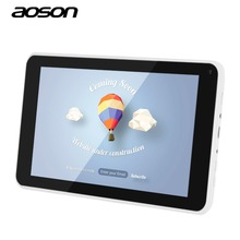stable quality 7 Inch Tablet pc Aoson M751S-B Android 4.4 Quad Core Allwinner A33 TN 800*480 512 RAM 8G ROM WIFI(China (Mainland))