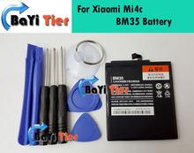 Для Xiaomi Mi4c Батареи BM35 100% Новое Высокое Качество 3000 мАч резервная Батарея для Xiaomi Mi4c Ми 4c Смартфон в на складе