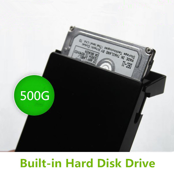 2.5 Inch External Hard Drive 1tb USB HDD Case plastic Black portable hard drive Free Shipping(China (Mainland))