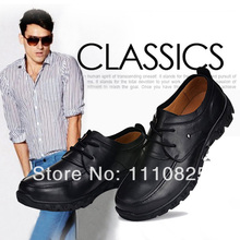 Free shipping 2014 new colorways men add fertilizer XL MENS business leather shoes size shoes(China (Mainland))