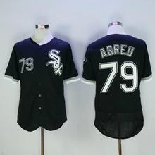Mens 1 Adam Eaton 8 Bo Jackson 14 Paul Konerko 21 Todd Frazier 49 Chris Sale 100% Stitched Flexbase black Baseball Jerseys(China (Mainland))