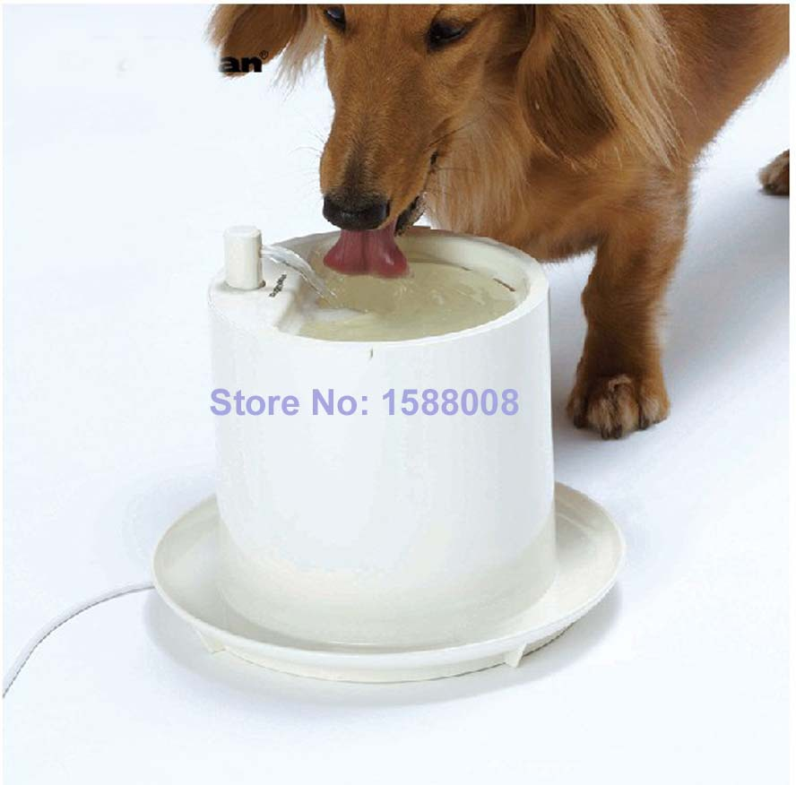 220V Automatic Pet Water Feeder Electric Dog Water Bowl Pet Fountain for Dog(China (Mainland))