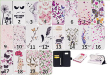Buy Galaxy S8 Case,S8 Plus Pouch Cartoon Flip Cover Dreamcatcher Butterfly Flower Wallet Leather Feather Bag Stand Card 80pcs for $202.35 in AliExpress store