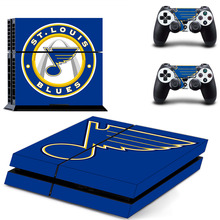 Buy NHL St Louis Blues PS4 Skin Sticker Decal Vinyl Sony PS4 PlayStation 4 Console 2 Controllers Stickers for $6.61 in AliExpress store