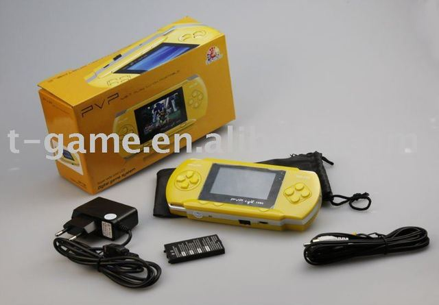 16 bit play vision portable for video game players