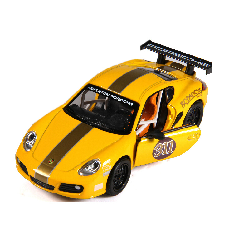 Allloy diecast car model Concept Racing Car for GT3 CUP 1/32 scale Light&Soud pull back toy car gift for kids(China (Mainland))