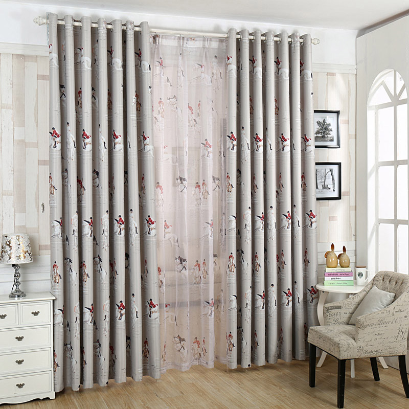 curtains modern living room cloth tulle fashion home curtain kids bedroom cartoon window tulle curtain tulle european wp140#30(China (Mainland))