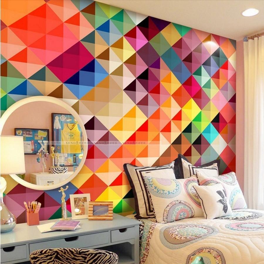 Behang kleurrijke koop goedkope behang kleurrijke loten van ...