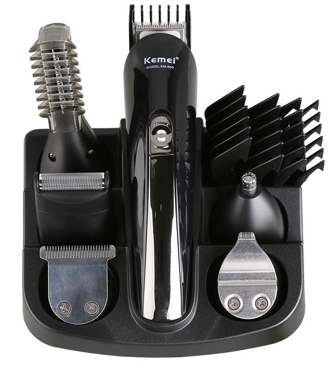 Kemei600 6 in 1 hair trimmer Professional Hair Clipper Cordless Hair Beard Trimmer Electric Machine machine cutting (2)