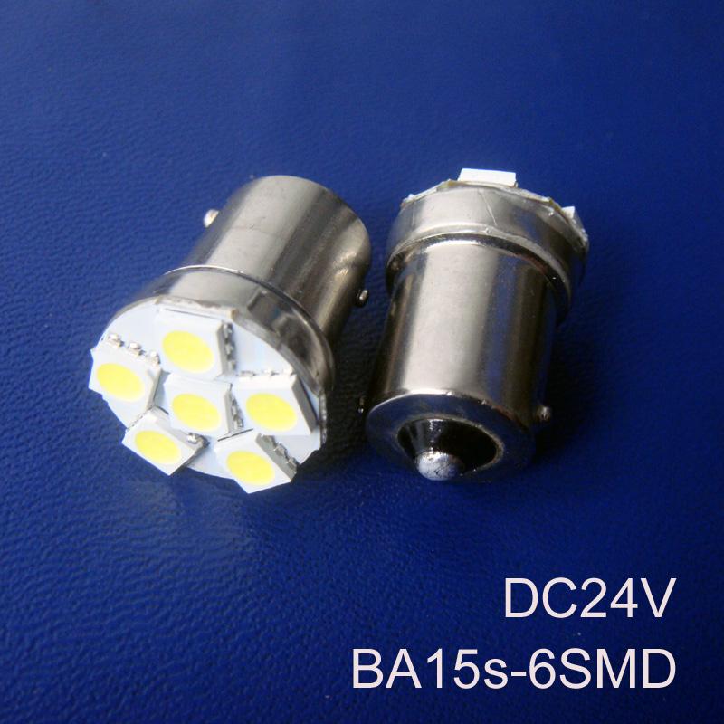 High quality 1156 1141 24V Truck,goods van Led bulb BA15s 24v Side Turn Signal,R5W P21W 24V Rear lights free shipping 5pcs/lot(China (Mainland))