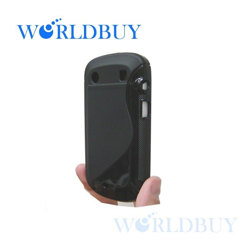 High Quality Black Soft TPU Gel S line Skin Cover Case for Blackberry Bold Touch 9900 9930 Free Shipping UPS DHL HKPAM KXJIU873(China (Mainland))