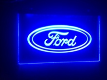 tr02 Ford car beer bar pub club 3d signs LED Neon Light Sign MAN CAVE(China (Mainland))