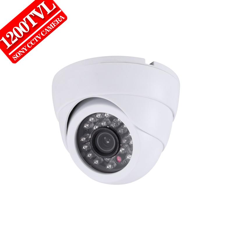 "Free shipping 2016 NEW 1/3"" SONY CCD HD 1200TVL Waterproof Indoor security camera IR 30 meter CCTV Camera(China (Mainland))"