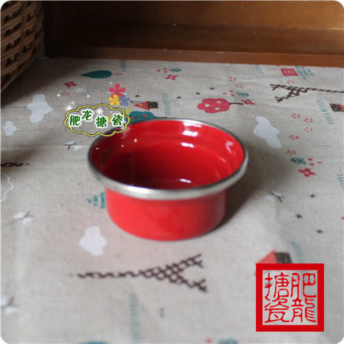 Five Crown enamel candlestick alcohol cup butter melted chocolate sauce dish is baked(China (Mainland))