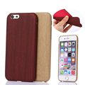 Luxury Wooden Pattern PU Leather Cover For Apple iPhone 6 Case 4 7 Wood Grain Soft