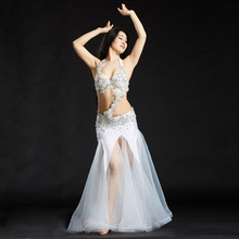 Buy New Arrival 2017 Belly Dancing Oriental Dance Costumes Performance 3pcs Bead Set (Bra, Belt, Skirt) Belly Dance Costume Set for $81.00 in AliExpress store