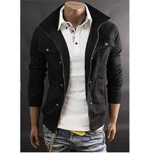 free shipping 2016 hot sale Men's Hoodie Slim Cotton Winter Fleece Warm Jacket Coat Outwear Sweatshirt Cardigan US Size