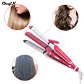 3 In 1 Multifunctional Hair Styling Tools Electronic Hair Straightening Irons Corn Plate Hair Curler Magic