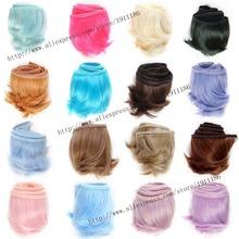 5cm*100cm Doll wigs/hair volume bangs for bjd / can children / Yeluo Li / sd DIY wigs fapai  Free shipping(2)