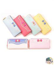 2015 New Samantha Vega Sailor Moon 20th Anniversary Limited Edition Ladies Long Zipper Female Bag Women Leather Wallet Purse