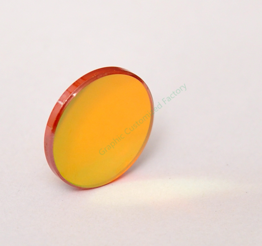 """CN ZnSe DIa. 18mm FL 50.8mm 2""""Co2 Laser Focus Lens Focusing Mirror For Laser Cutter And Laser Engraver Machine Free Shipping(China (Mainland))"""