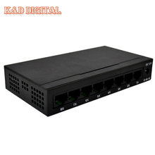 Steel Case 8 Port 10/100M Soho Network Switch Ethernet 8Port Switch With EU/US Power Supply Free Shipping