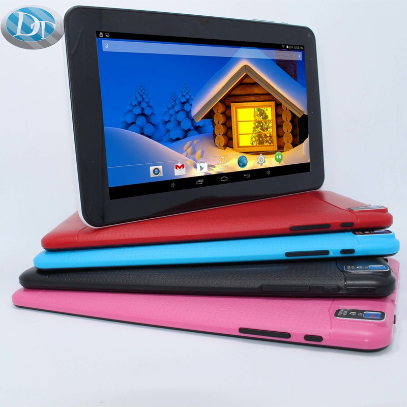 High performance 9''A33 Quad-Core 1.3GHz processor 512MB/8GB WIFI Bluetooth Supports 3D games with G-sensor Tablet PC(China (Mainland))