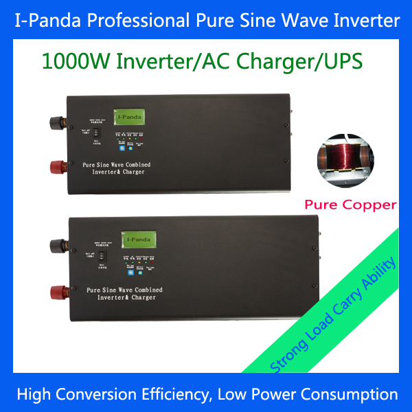 Peak 3000W 1000W UPS Inverter/Charger with Pure Sine Wave output LCD dc to ac with MPPT PMW solar controller(China (Mainland))