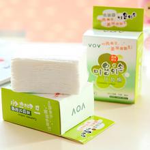 100 pcs naturel du visage coton pads maquillage visage nettoyage plaquettes fard à paupières patches cosmétiques nail polish remover lingettes de poussière(China (Mainland))
