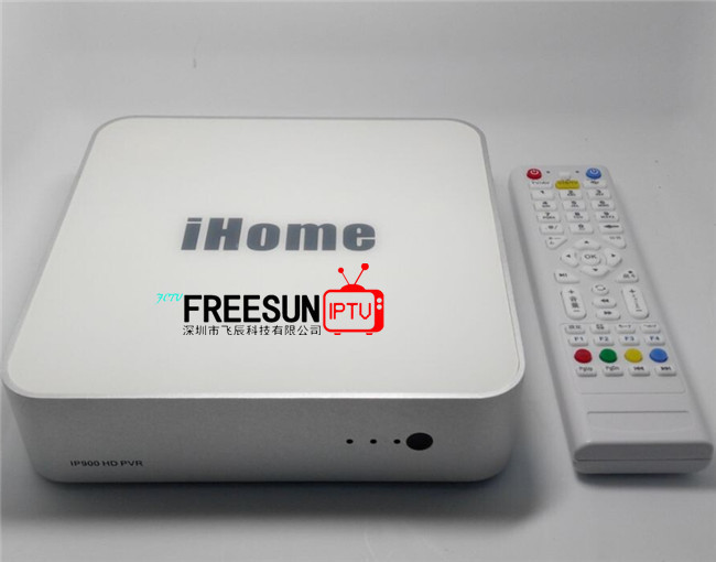 Korean IPTV use linux system IP900 Ihome, satellite receiver set top box, media player with Korean channels(China (Mainland))