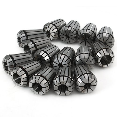 ER25 Spring Collects Set CNC Milling Highly Clamping Force Pack of 15(China (Mainland))
