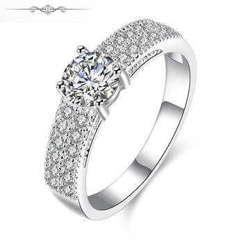 R765-8 // Wholesale hot sale Factory Price silver Ring, new fashion jewelry silver plated Popular Ring