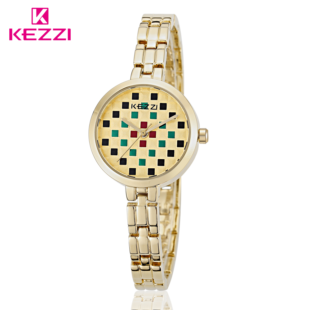 New Arrival KEZZI Brand Womens Wrist Watches Fashion Formal Japan Movement Waterproof Steel Strap Quartz Watch Ladies Watch <br><br>Aliexpress