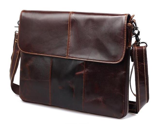 Мужской старинные кожаные сумки на ремне натуральная кожа мужчины реальной коровы ...