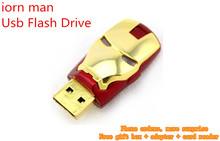 Реальная емкость железный человек USB флэш-накопитель 64 ГБ 128 ГБ 256 ГБ 512 ГБ памяти флешки флэш-накопитель Memoria USB внешние накопители